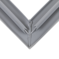Continental Refrigeration2-735GASKET, HALF DOOR (23 X 28 3/4) DART / MAGNETIC