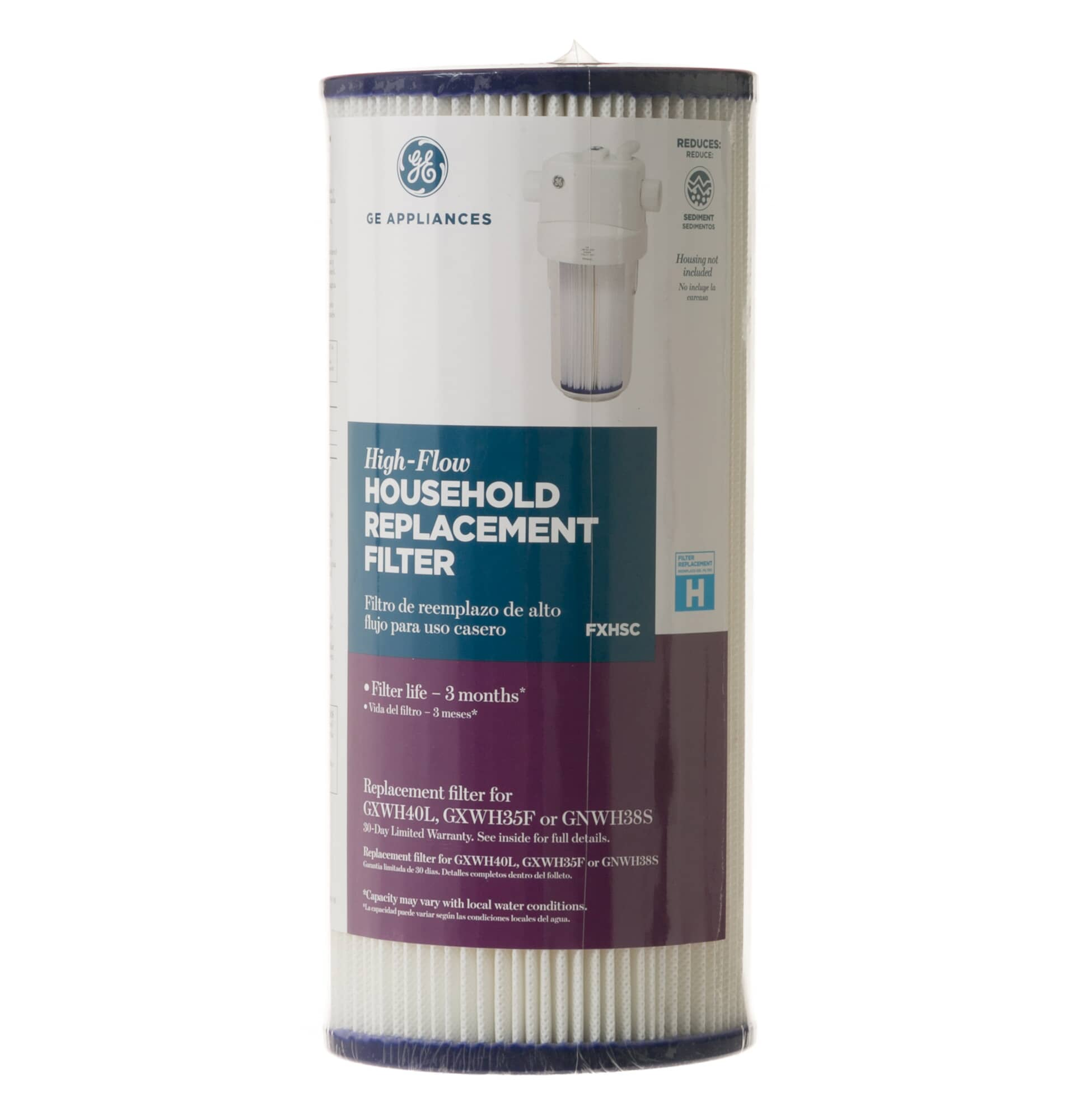 GE ApplianceFXHSCSEDIMENT FILTER REPLACEMENT