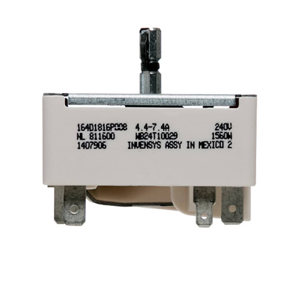 GE ApplianceWB24T10029INFINITE SWITCH, FOR 6 IN ELEMENT