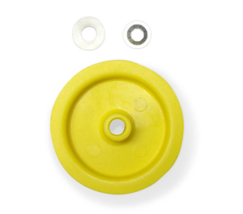 GE Appliance WE12X81 IDLER PULLEY