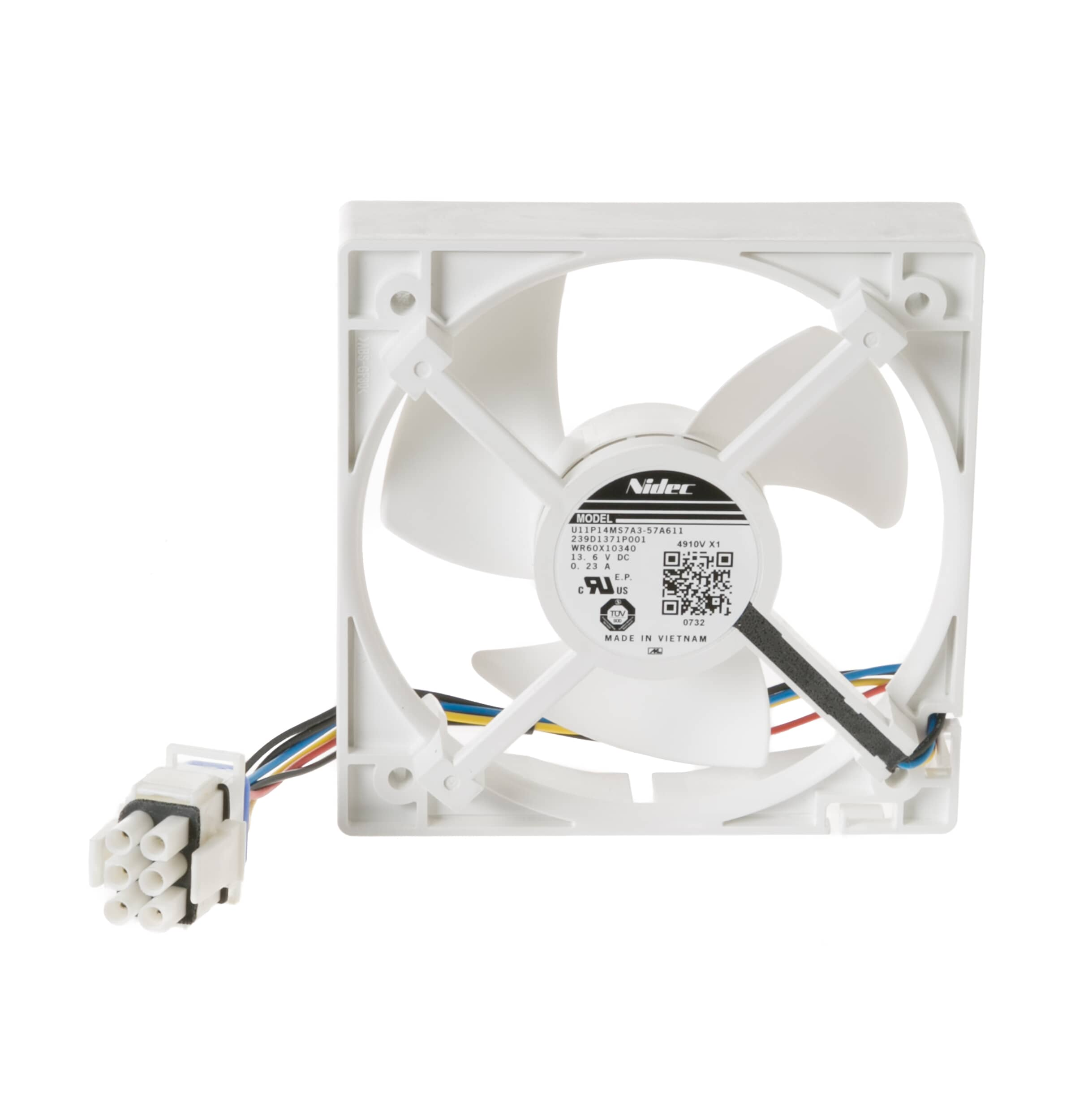 GE Appliance WR60X10340 EVAPORATOR FAN MOTOR