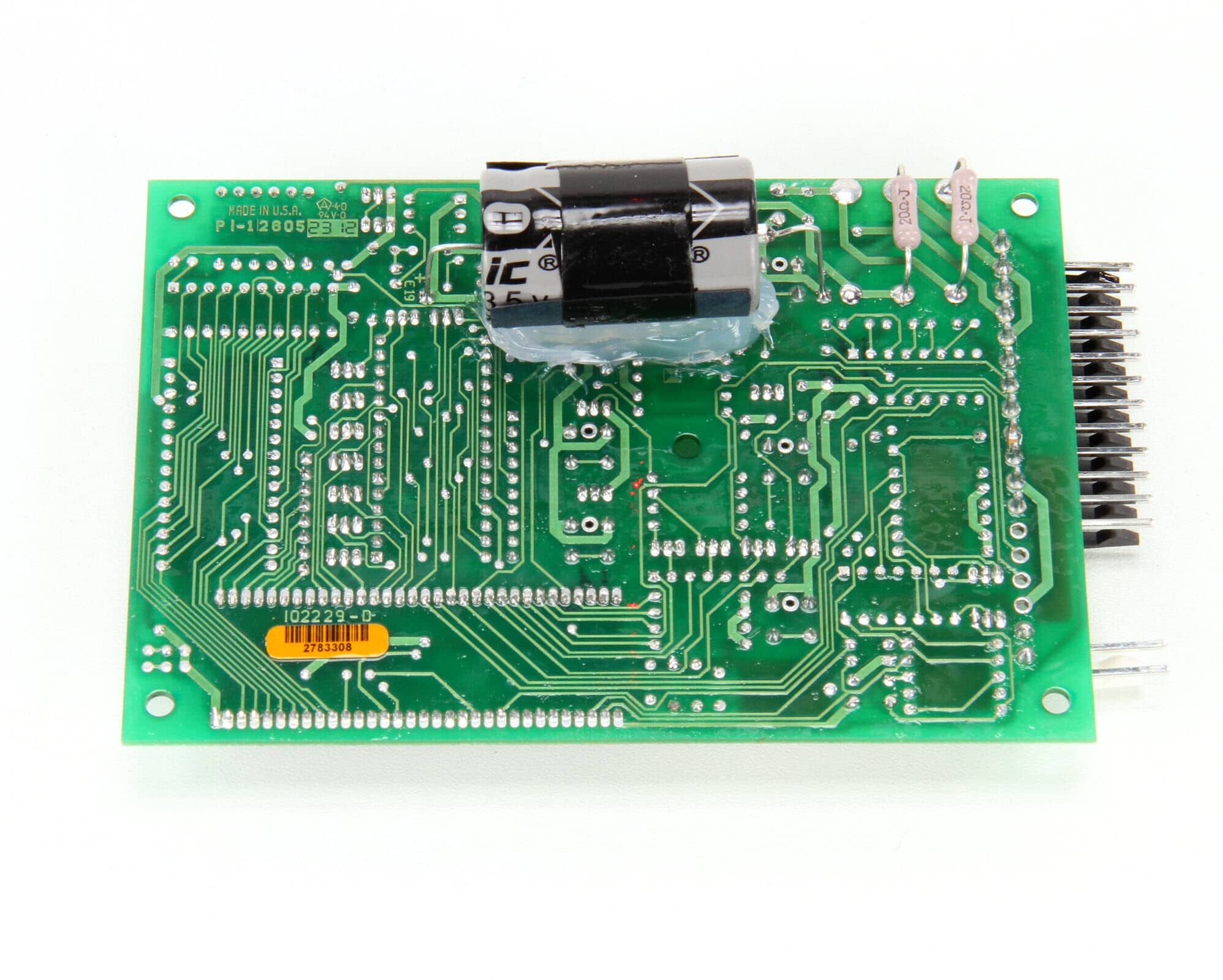 Lang 2E-40101-17 Circuit Board Temperature/Time, Control SII
