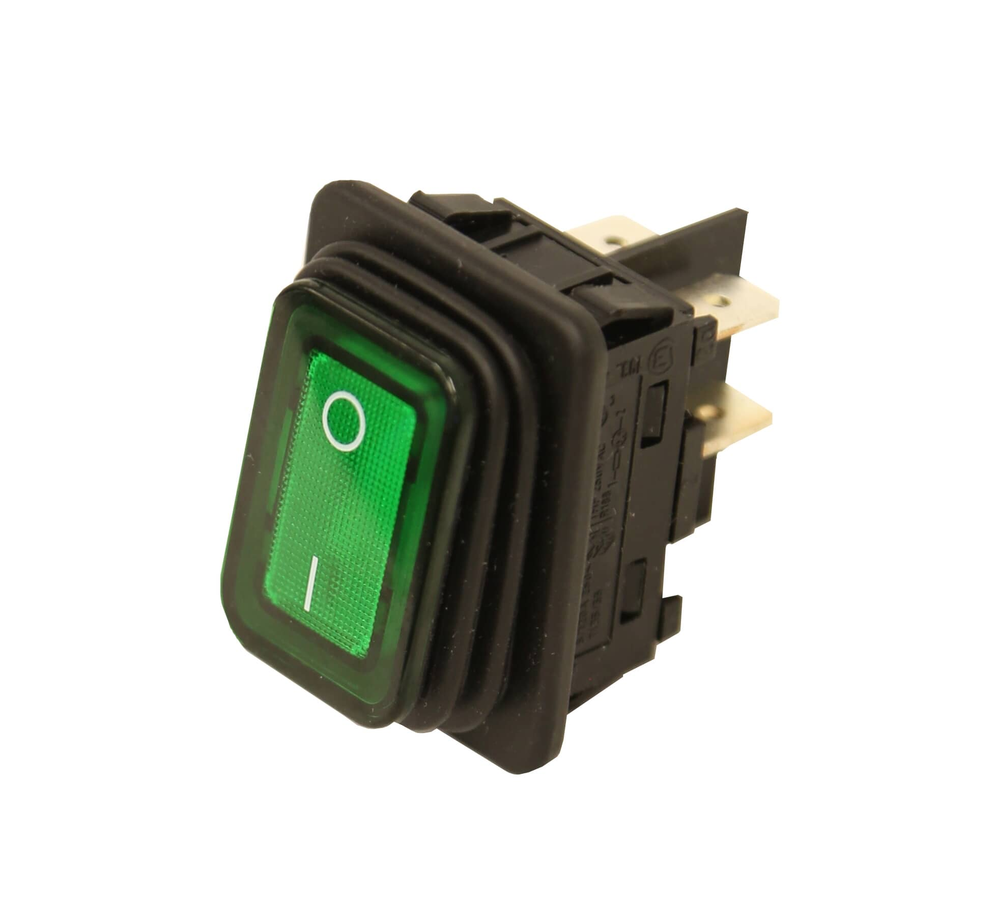 Meister Cook, LLC DMW-20109 Rocker Switch, On/Off, Green Lighted, DPDT