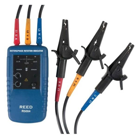 REED InstrumentsR5004Motor Rotation / 3-Phase Tester